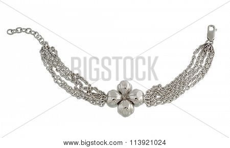 necklace isolated on white background