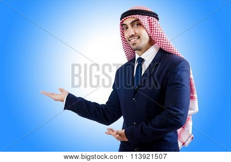 Arab businessman i