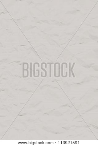 Vector crumpled paper sheet. Wrapping-paper texture. Vectortexture for your design