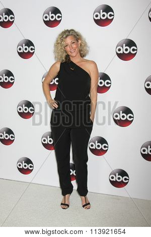 LOS ANGELES - JAN 9:  Laura Wright at the Disney ABC TV 2016 TCA Party at the The Langham Huntington Hotel on January 9, 2016 in Pasadena, CA