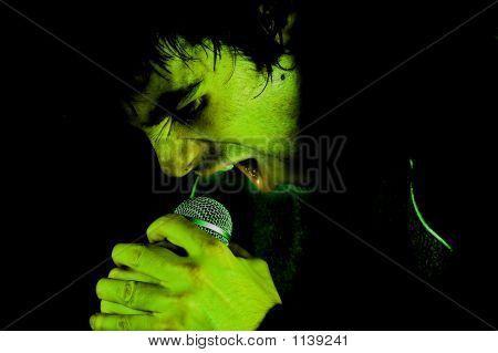 Scream In Microphone