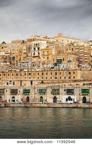 Valletta  In Winter
