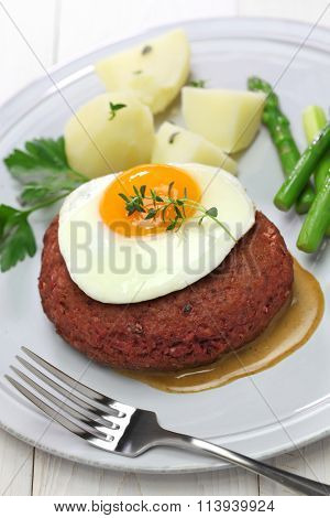 beef lindstrom, swedish red beef patty