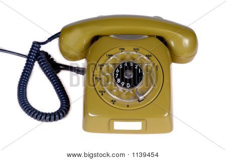 Retro Telephone And Cabels