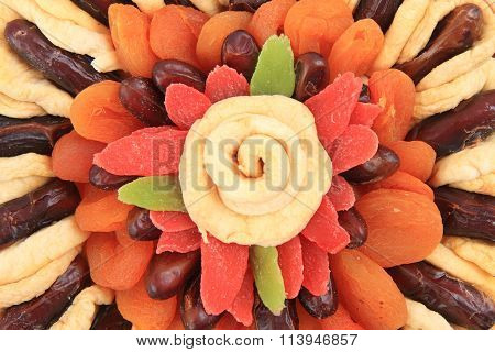 Dried Fruits As Nice Background