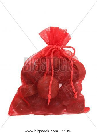 Bag Of Chocolates Isolated (8.2mp Image) poster