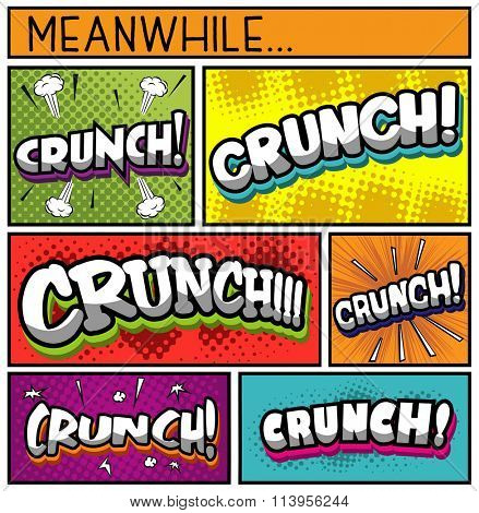 Comic Book Collection- CRUNCH
