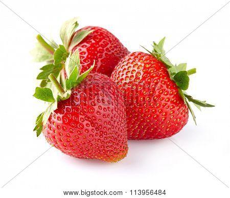 Sweet strawberry in closeup