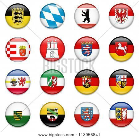 Germany States Flag Collection-Complete