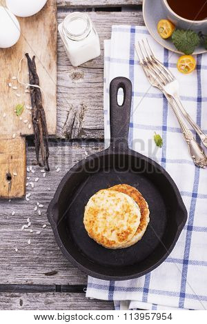 Patties of rice