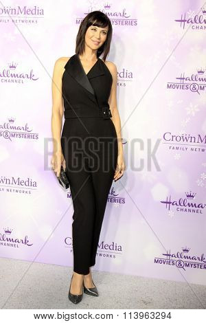 LOS ANGELES - JAN 8:  Catherine Bell at the Hallmark Winter 2016 TCA Party at the Tournament House on January 8, 2016 in Pasadena, CA