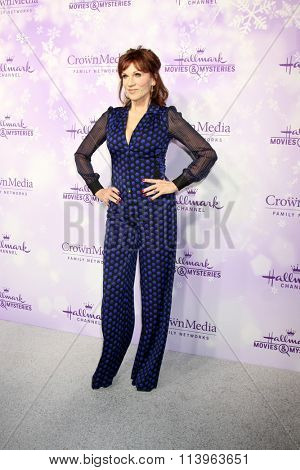 LOS ANGELES - JAN 8:  Marilu Henner at the Hallmark Winter 2016 TCA Party at the Tournament House on January 8, 2016 in Pasadena, CA