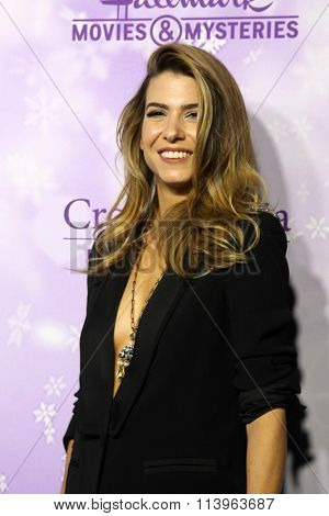LOS ANGELES - JAN 8:  Orly Shani at the Hallmark Winter 2016 TCA Party at the Tournament House on January 8, 2016 in Pasadena, CA