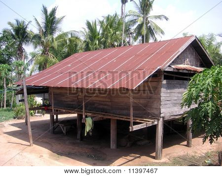 A hut at elephant's Village