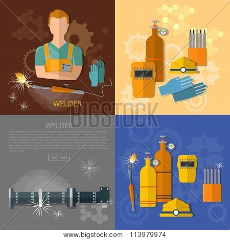 Professional Welder Gas Welding Tools And Equipment Set