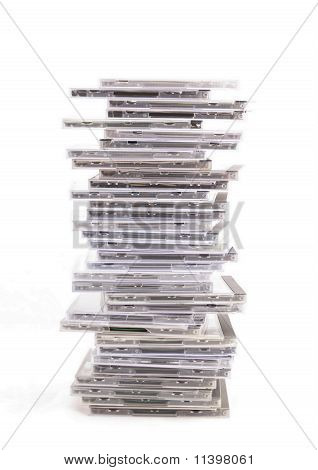 Cds In Packing Boxes