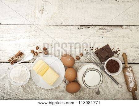 Ingredients for the preparation of bakery products