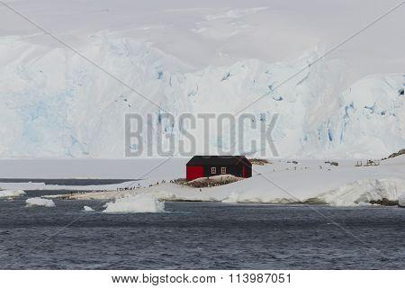 Port Lockroy Heritage Site, Antarctica