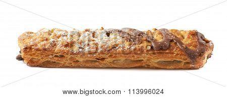 Chocolate covered banana strudel bun