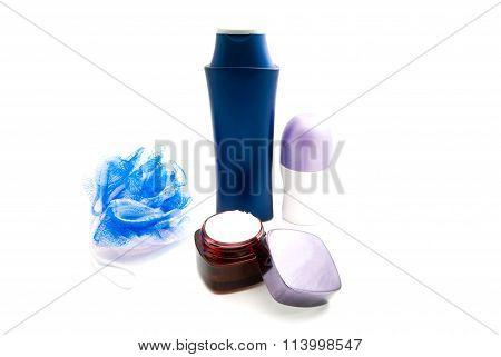 Deodorant, Cream, Wisp And Shampoo
