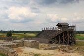 Постер, плакат: Reconstruction of Roman amphitheater