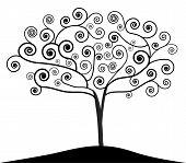 Art Nouveau Tree poster