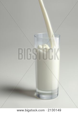 Milk In Glass