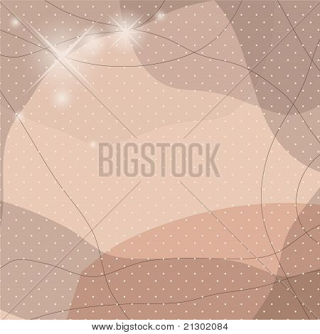 Background with shapes. Vector illustration