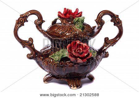 Brown Decorative Vase