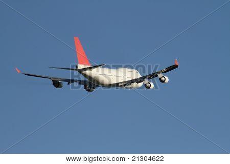 Jumbo take off