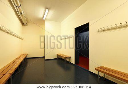 Innere ein Ankleidezimmer, niemand im Zimmer