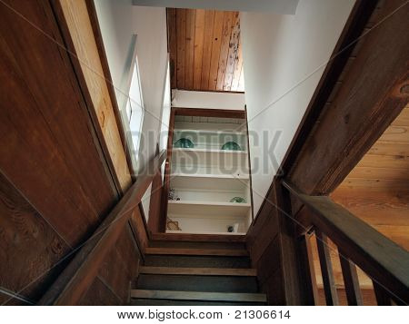 Stairs Up To Second Floor Bedroom