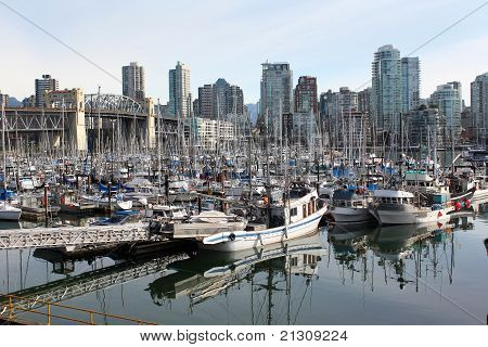 Fisherman's Wharf, False Creek, Vancouver