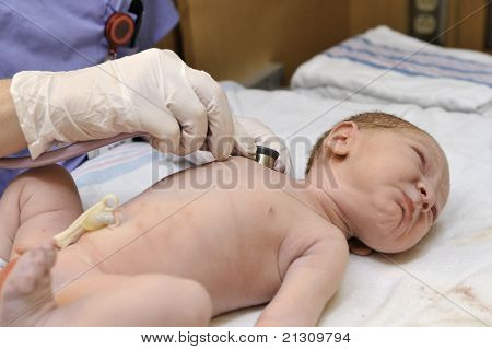 Newborn Baby - Lung Examination