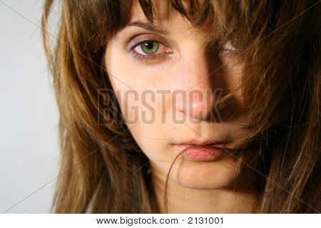 Tender Looking Woman