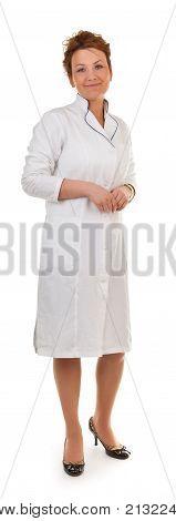 Portrait Of The Medical Officer