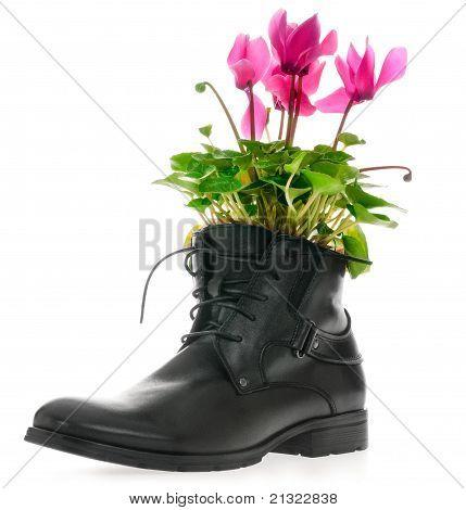Black Men's Leather Shoes