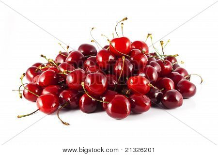 a bunch of cherry