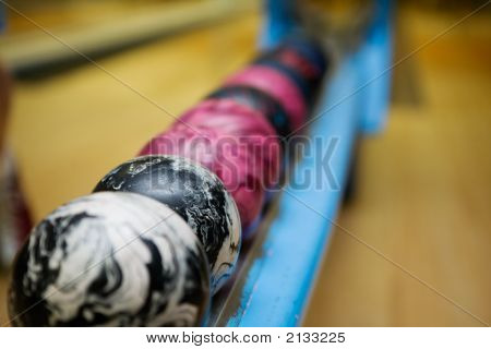 Bowling Ball Detail