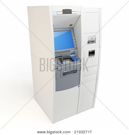 3D Atm Machine Detailed