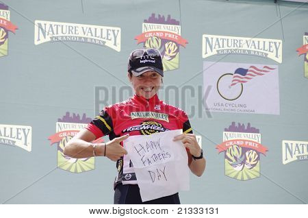 Evelyn Stevens Wins Most Aggressive Rider Jersey