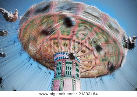 Carousel Motion Blur