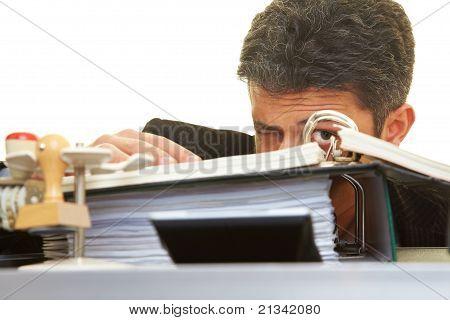 Escondiéndose detrás de archivos