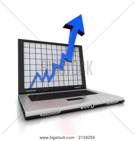 Laptop-Pfeil