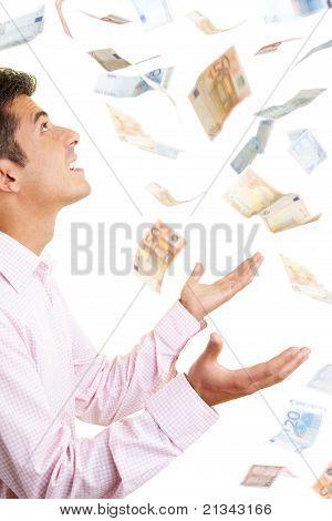 Chovendo dinheiro