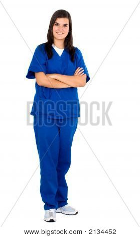 Female Friendly Nurse