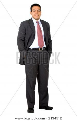 Business Man Standing