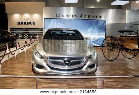 Mercedes F 800 Style Concept