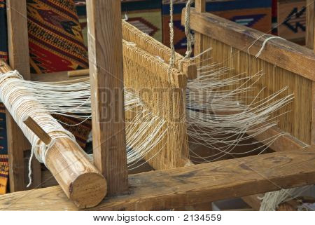 Native American Wooden Loom