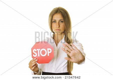 Sign And Gesture Stop